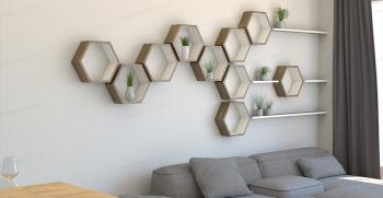 معرفی انواع مدل شلف های شش ضلعی +[شلف 6 ضلعی جدید]