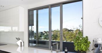 انواع مدل پنجره دوجداره بزرگ (ریلی - کشویی) جدید 1400
