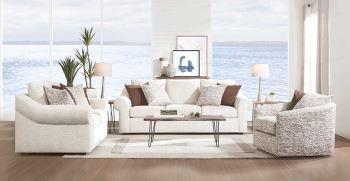 با مبل سفید ، دکوراسیون منزلتان را زیبا کنید