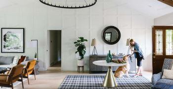 چگونه اتاق نشیمن طراحی کنیم ؟