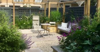 جدیدترین طراحی باغچه ویلا و حیاط منزل