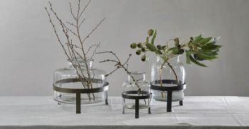 50 مدل استند گل چوبی و فلزی | استند گلدان شیک و زیبا