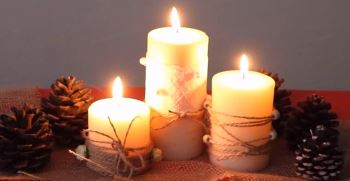 آموزش ساخت شمع تزیینی در خانه