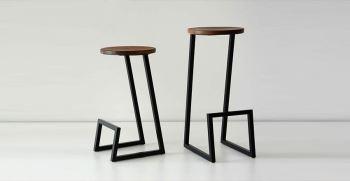 میز و صندلی فضای باز چوبی فلزی برای تراس و بالکن