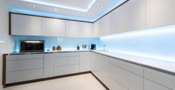 انواع نور مخفی آشپزخانه کابینت و سقف