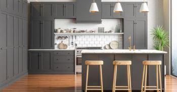 کف آشپزخانه بالاتر از پذیرایی بهتر است یا همسطح؟