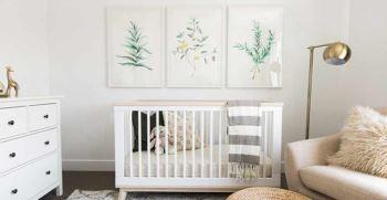 چگونه اتاق نوزاد طراحی کنیم؟